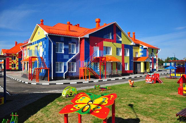 детские сады. фото